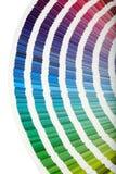 Plan rapproché de guide de couleur Photographie stock libre de droits