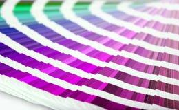 Plan rapproché de guide de couleur photo libre de droits