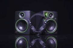 Plan rapproché de haut-parleur soundbar images stock