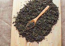 Plan rapproché de haute qualité de thé vert Photo libre de droits