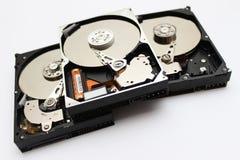 Plan rapproché de HDD Image libre de droits