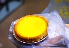Plan rapproché de Hong Kong Egg Tart photos libres de droits