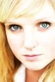 Plan rapproché de jeune femme Photographie stock libre de droits