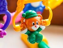 Plan rapproché de jouet de bébé Photo stock