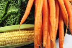 Plan rapproché de légumes Photographie stock