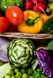 Plan rapproché de légumes Image libre de droits