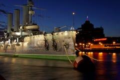 Plan rapproché de l'aurore de croiseur Photographie stock libre de droits
