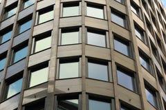 Plan rapproché de l'immeuble de bureaux Photographie stock