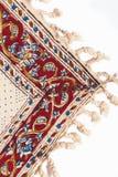 Plan rapproché de l'ornement des qalamkar persans. Photographie stock
