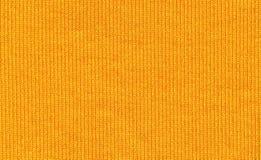 Plan rapproché de la fibre syntetic jaune Images libres de droits