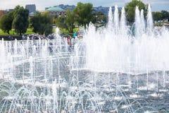 Plan rapproché de la fontaine de Tsaritsyno Photos libres de droits