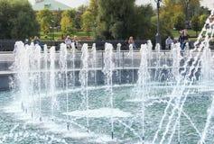 Plan rapproché de la fontaine de Tsaritsyno Photo libre de droits