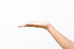 """""""Le langage des mains"""" Plan-rapproch%C3%A9-de-la-main-de-la-belle-femme-paume-vers-le-haut-42859851"""