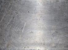 Plan rapproché de la surface métallique photos stock