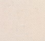 Plan rapproché de la texture de toile naturelle blanche. Photo stock