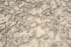 Plan rapproché de lagune de saumure photo libre de droits