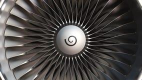 Plan rapproché de lames de moteur de turbine, animation 3D loopable réaliste banque de vidéos