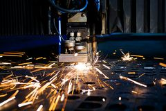Plan rapproché de laser Photos stock