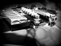 Plan rapproché de Les Paul Guitar Photographie stock