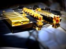Plan rapproché de Les Paul Guitar Photo stock