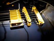 Plan rapproché de Les Paul Guitar Image libre de droits