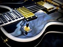 Plan rapproché de Les Paul Guitar Photos stock