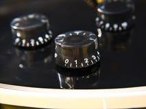 Plan rapproché de Les Paul Guitar Images stock