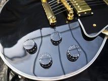Plan rapproché de Les Paul Guitar Photographie stock libre de droits