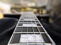 Plan rapproché de Les Paul Guitar Photos libres de droits
