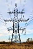 Plan rapproché de ligne électrique Photographie stock libre de droits