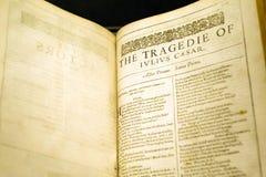 Plan rapproché de livre de vintage Image libre de droits