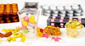 Plan rapproché de médecine Photo libre de droits