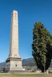 Plan rapproché de mémorial de guerre de cénotaphe à Hobart, Australie photo stock