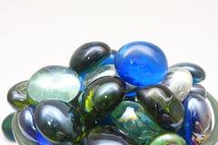 Plan rapproché de marbres Photographie stock