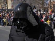Plan rapproché de masque de vader de Darth images libres de droits