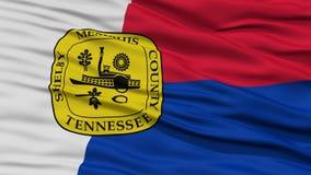 Plan rapproché de Memphis City Flag Photographie stock libre de droits