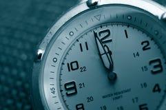 Plan rapproché de montre Image stock