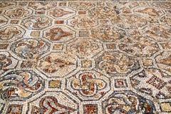 Plan rapproché de mosaïque dans Ephesus, Turquie Image libre de droits