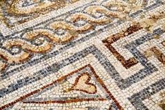 Plan rapproché de mosaïque dans Ephesus, Turquie Images stock