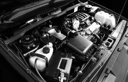Plan rapproché de moteur Photos stock