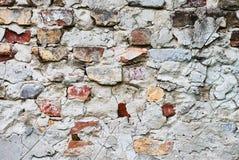 Plan rapproché de mur de briques photo stock
