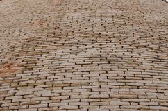 Plan rapproché de mur de briques de fort Bahawalpur Pakistan de Derawar image stock
