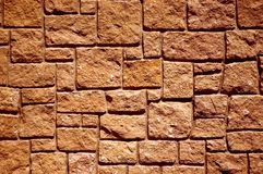 Plan rapproché de mur en pierre image libre de droits