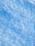 Plan rapproché de neige Photo libre de droits