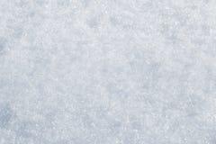 Plan rapproché de neige photo stock