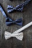 Plan rapproché de noeud papillon pointillé Photo stock