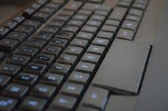 Plan rapproché de noir de clavier photos libres de droits
