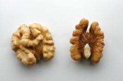 Plan rapproché de noix Photos libres de droits