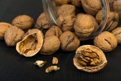 Plan rapproché de noix Photo libre de droits