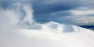 Plan rapproché de nuage Photographie stock